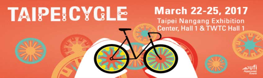 Join us on Taipei Cycle 2017